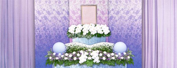 生花祭壇 家族葬